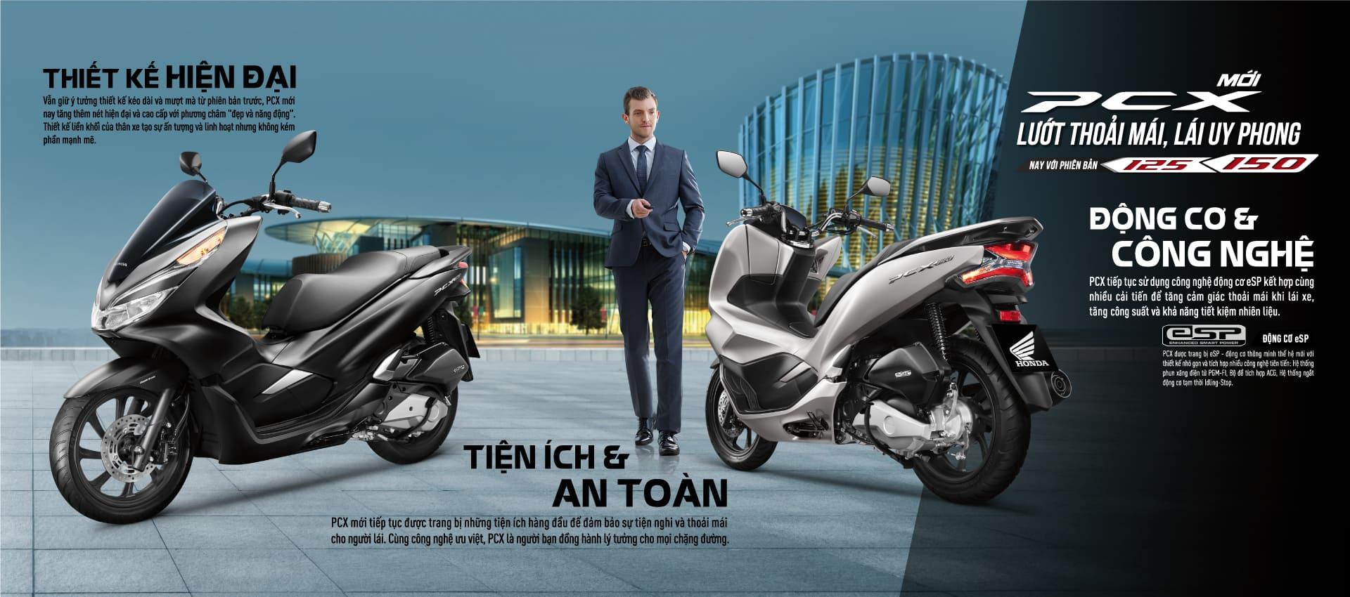 Honda PCX 125 – PCX 150