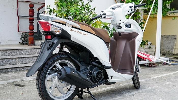 Honda Vision 2020 được Bổ Sung Them 2 Mau Mới Ra Mắt